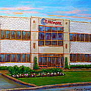 Promark Electronics 215 Voyageur Street Pointe Claire Montreal Scene Poster