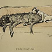 Propitation, 1930, 1st Edition Poster