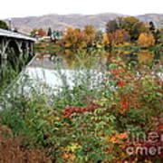 Prosser - Autumn Bridge Poster