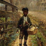 Protecting The Groceries Poster by Edward Lamson Henry