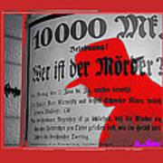 Proto Film Noir Peter Lorre Fritz Lang M 1931  Screen Capture Poster 2013 Poster