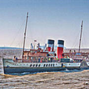 Ps Waverley Approaching Penarth Poster