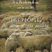 Psalm 100 3 Poster