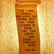 Psalm 121 Poster by James Hammen