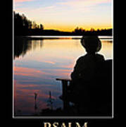 Psalm 46 Poster