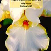 Psalms 113 V 1 Poster