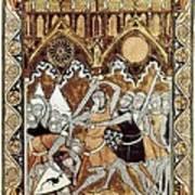 Psalter Of Saint Louis 13th C.. Abraham Poster