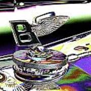 Psychedelic Bentley Mascot 2 Poster