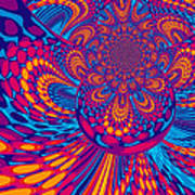 Psychedelic Mind Trip Poster
