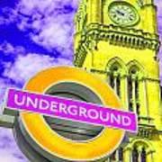 Psychedelic Underground Poster
