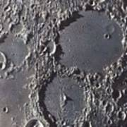 Ptolemaeus And Alphonsus Craters Poster