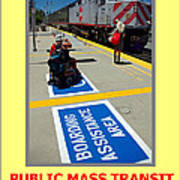 Public Mass Transit Poster