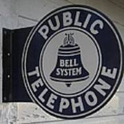 Public Telephone Poster