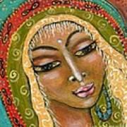 Pueblo Priestess Poster