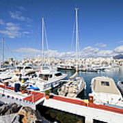Puerto Banus Marina In Spain Poster