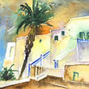 Puerto Carmen Sunset In Lanzarote 03 Poster
