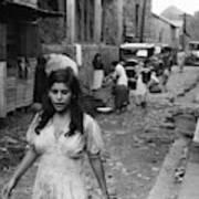 Puerto Rico Slum, 1942 Poster