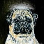Pug Angel Poster by Jay  Schmetz