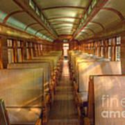 Pullman Porter Train Car Poster
