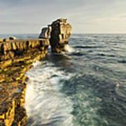 Pulpit Rock In Dorset Poster