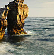 Pulpit Rock On Jurassic Coast Poster