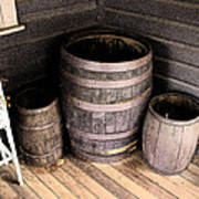Purple Barrels Poster
