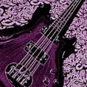 Purple Bass Poster