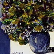 Purple Chrysanthemum Poster