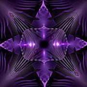 Purple Fingerz Poster