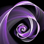 Purple Flirt Poster
