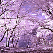 Purple Forest Poster