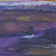 Purple Ocean Poster