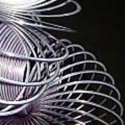 Purple Slinky Poster