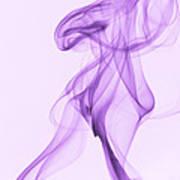 Purple Smoke Poster