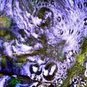 Purple Swoosh Poster