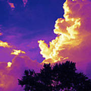 Purple Thunder Poster