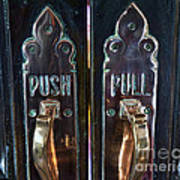 Push And Pull Poster