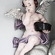 Putto Figure Poster