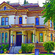 Puyallup Mansion In Washington State Poster