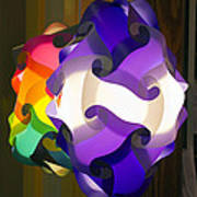 Puzzle Lamp Poster