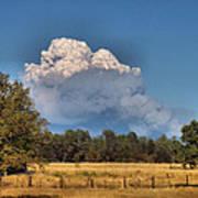 Pyrocumulus Cloud 08 18 12 Poster