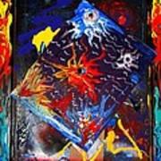 Pyschodelique Sunrises Poster