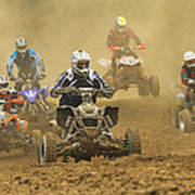 Quad Race Poster