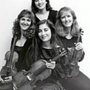 Quartet Of Muses Poster