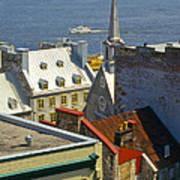 Quebec Lower Town Poster