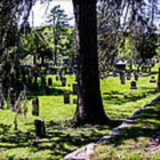 Quechee Vermont Cemetary Poster