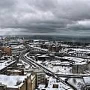 Queen City Winter Wonderland After The Storm Series 0011 Poster