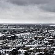 Queen City Winter Wonderland After The Storm Series 002 Poster