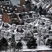Queen City Winter Wonderland After The Storm Series 0028b Poster