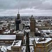 Queen City Winter Wonderland After The Storm Series 007 Poster